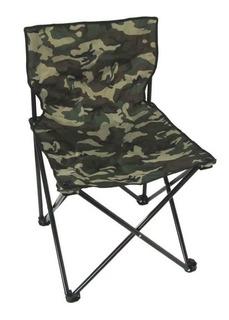 Cadeira Jws Dobrável Articulada Para Apoio Em Provas De Bicicleta Cor Camuflada Serve Pesca Camping