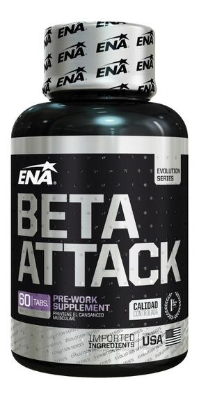 Beta Attack 60 Tabs Ena Sport - Beta Alanina Pre Work