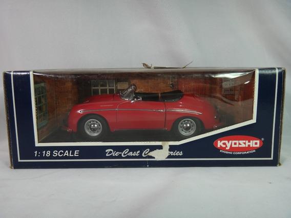 Porsche 356 A 1600 Speedster Miniatura Kyosho 1/18 1958 Caix