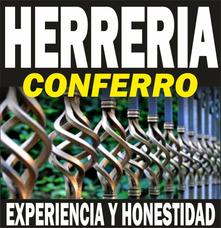 Herreria, Techos, Rejas, Escaleras, Aleros, Pergolas, Etc
