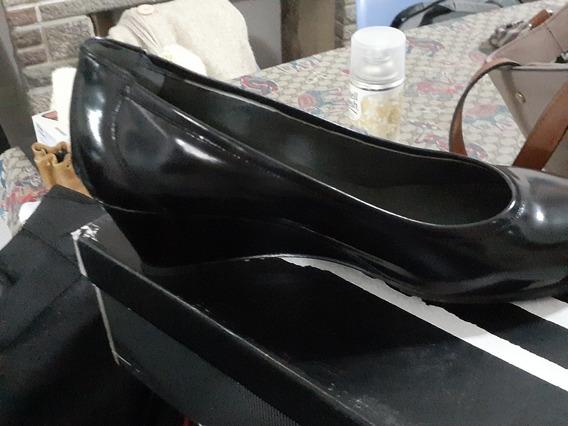 Zapatos Febo Clásicos Taco Chino,azafata, Oficina, Gendarme