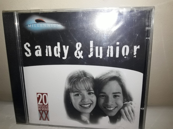 Cd Sandy & Junior Millennium Lacrado Ne