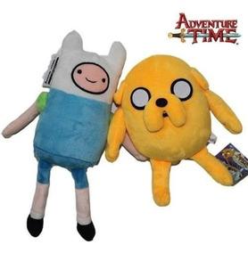 Finn E Jake - 30cm - Pelúcias -adventure Time - O Par