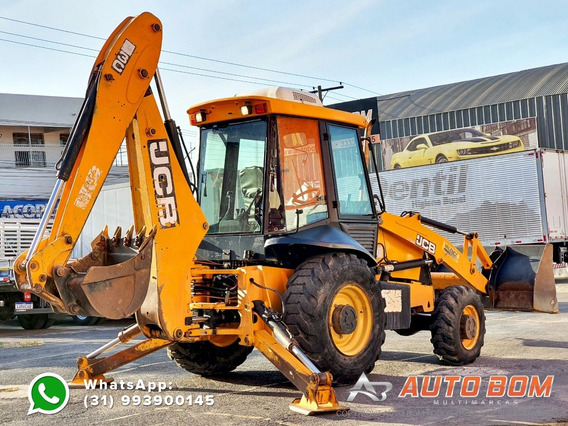 Retroescavadeira Jcb 3c 4x4 Ñ É Case New Holland Cat Volvo