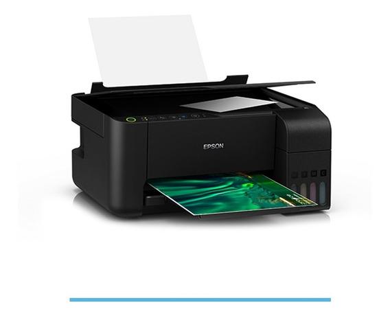 Impressora Multifuncional Epson Ecotank L3150 (l396) Wi-fi