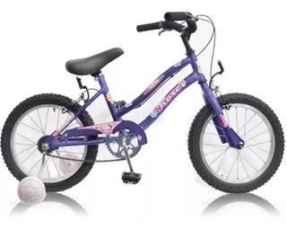 Bicicleta Rodado 16 Nena Niña Acero Playera Envio M1