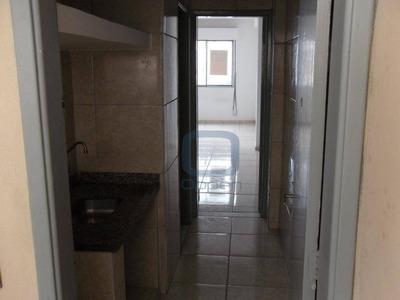 Kitnet Com 1 Dormitório Para Alugar, 35 M² Por R$ 600/mês - Centro - Campinas/sp - Kn0098