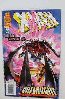 1998 Cómic X-men Los Hombres X #1 Editorial Vid Onslaught