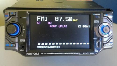 Frente Dvd Tv Napoli 4333 Super Conservada. 190,00