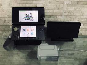 Nintendo 3ds Com 2 Jogos Carregador Sem Fio