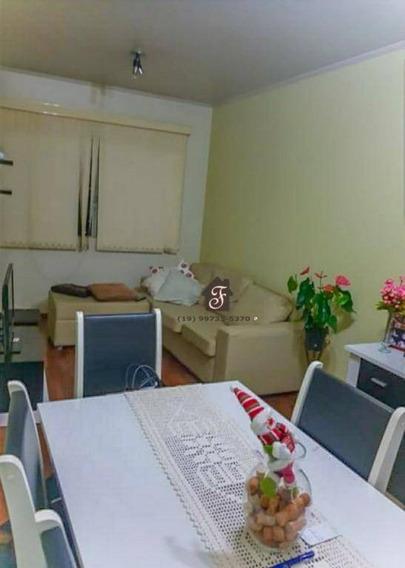 Apartamento Com 2 Dormitórios À Venda, 76 M² Por R$ 265.000,00 - Vila Marieta - Campinas/sp - Ap1644