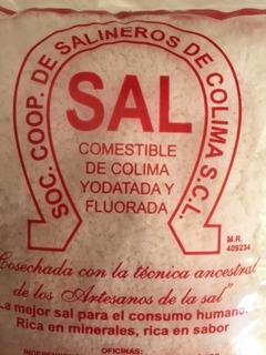 Sal De Mar Artesanal De Cuyutlán 10 Kg (10x1 Kg) Comestible