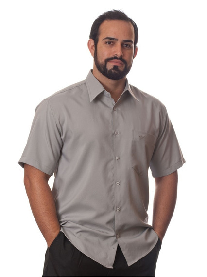 Revender Camisas Socais Masculinas Manga Curta Kit 12 Peças