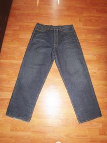 Jeans Mezclilla Caballero Talla 38 Long
