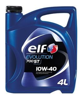 Aceite Elf Evolution 700st Semisintetico 10 W 40 4 Lts Nafta