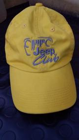 Gorra Amarilla Con Logo De Jeep Club En Perfecto Estado