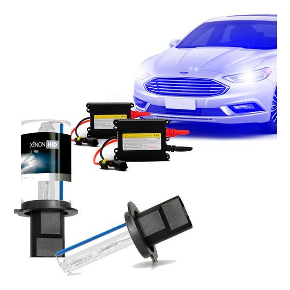 Kit Xênon Hb3 12000k Azul Escuro Automotivo