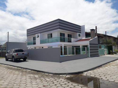 Sobrado Para Venda Em Pontal Do Paraná, Praia De Leste, 4 Dormitórios, 1 Suíte, 3 Banheiros, 3 Vagas - 3114_1-1841941