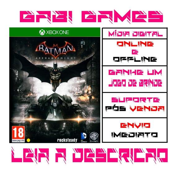 Batman: Arkham Knight - Xbox One Digital Offline + Brinde