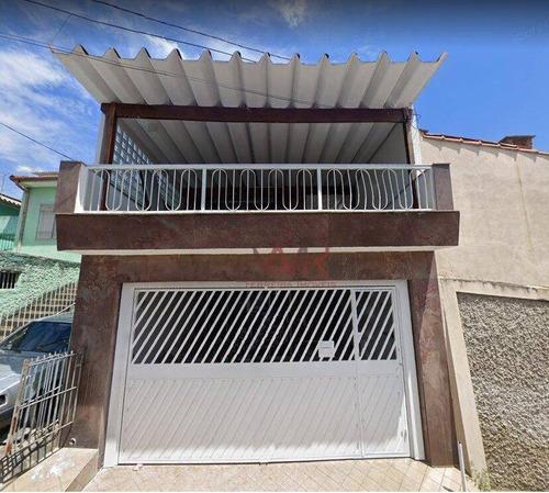 Sobrado À Venda, 200 M² Por R$ 585.000,00 - Jardim Vila Formosa - São Paulo/sp - So0684