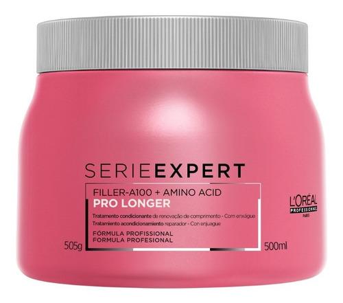 Imagem 1 de 9 de Máscara L'oréal Professionnel Serie Expert Pro Longer-500 Ml