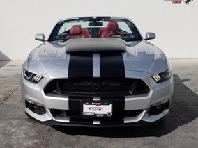 Ford Mustang Gt Convertible 2017 Plata