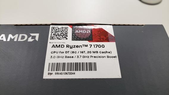 Processador Amd Ryzen 7 1700 Am4 Boost 3,7ghz 8c 16t 20mb