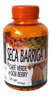Seca Barriga 120 Cápsulas Goji Berry Café Verde Chia 500mg
