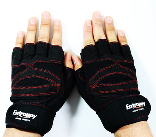 Guantes Gym Pesas Hombre Mujer Crossfit Entroppy Fitness
