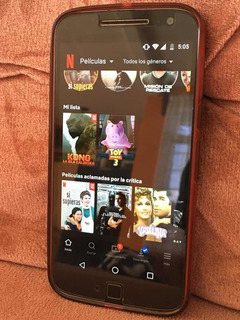 Celular Motorola G4 Plus Impecable