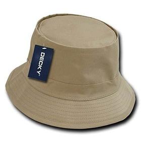 Decky Sombrero De Pescador, Caqui, Pequeño / Medio