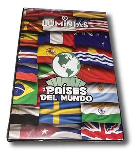 Carpeta + Folios - Países Del Mundo