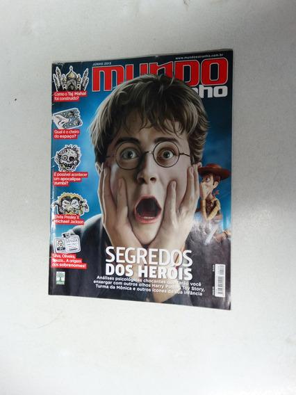 Mundo Estranho Nº 139! Segredos Do Heróis! Jun 2013!