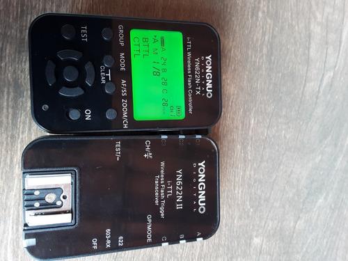 Kit Radio Flash ( 1 Controle  + 1 Slave)  Para Nikon