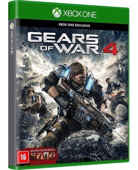 Gears Of War 4 (com + 4 Jogos Bonus) Midia Fisica - Xbox One