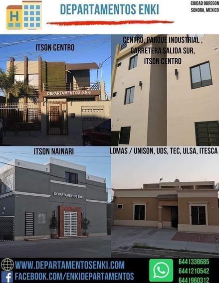 Departamento En Renta Ciudad Obregón Sonora
