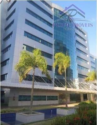 Sala Comercial Para Venda Em Salvador, Paralela, 1 Dormitório, 2 Banheiros, 2 Vagas - 396