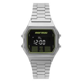 Relógio Mormaii Big Classic Prata