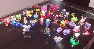 Mc Donald´s Burger - Set De 39 Figuras Mixtas O Individuales
