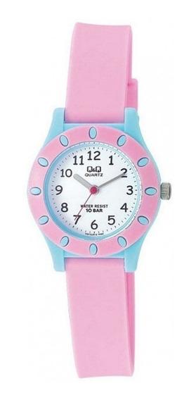 Relógio Q&q By Japan Infantil Vq13j012y C/ Garantia E Nf