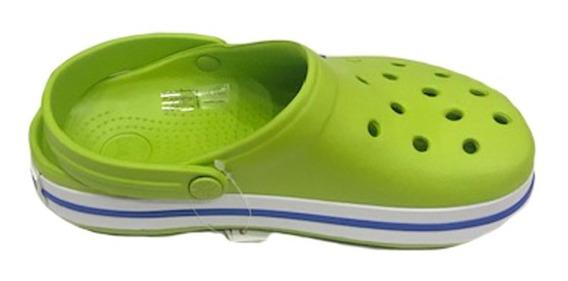 Crocs Originales Crocband Green-varsity Blue Verde