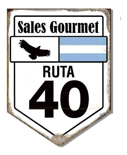 Sal Gourmet Ruta 40 X 250 Gr.realza El Sabor De Tus Comidas