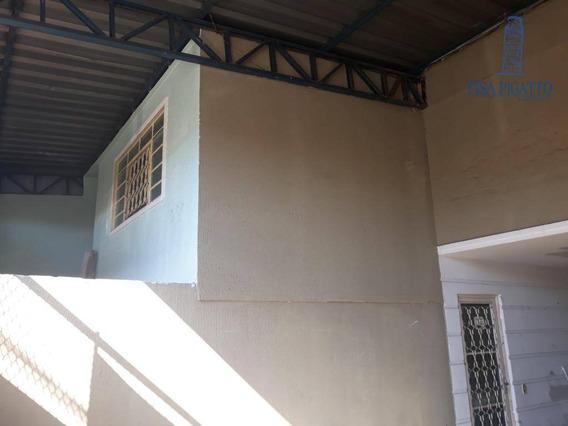 Casa Com 1 Dormitório À Venda, 180 M² Por R$ 350.000 - São José - Paulínia/sp - Ca2105