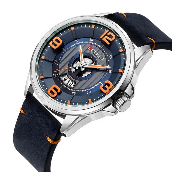 Curren Relojes Hombres De Negocios De Moda Relojes De Cuarzo