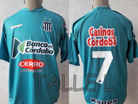 Camiseta Talleres De Córdoba Kappa 2008 #7 Buffarini Impecab