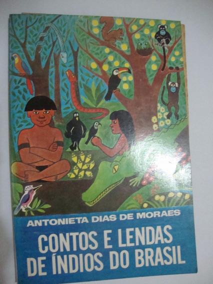 Livro Contos E Lendas De Índios Do Brasil