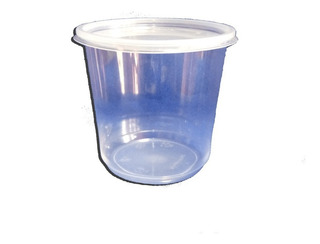 Pack 10 Potes Miel Transparente 1kg / Con Tapa/ Factura