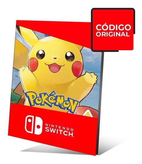 Pokémon: Lets Go, Pikachu! - Jogo Nintendo Switch Digital