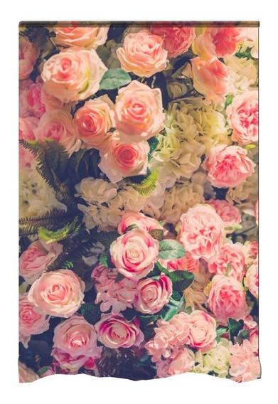 Fundo Fotográfico Em Tecido Newborn Flores 1,48x2,10m- Ff-31