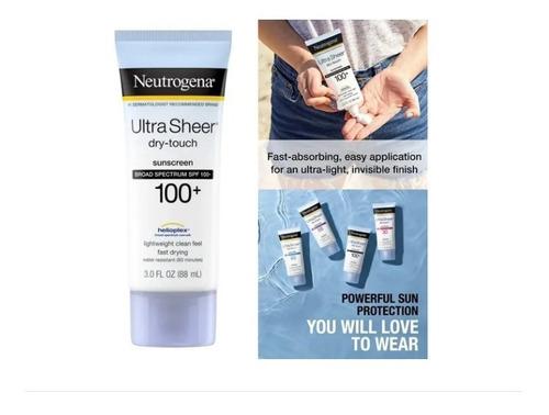 Protetor Solar Neutrogena Ultra Sheer Dry-touch Fps100 Impor